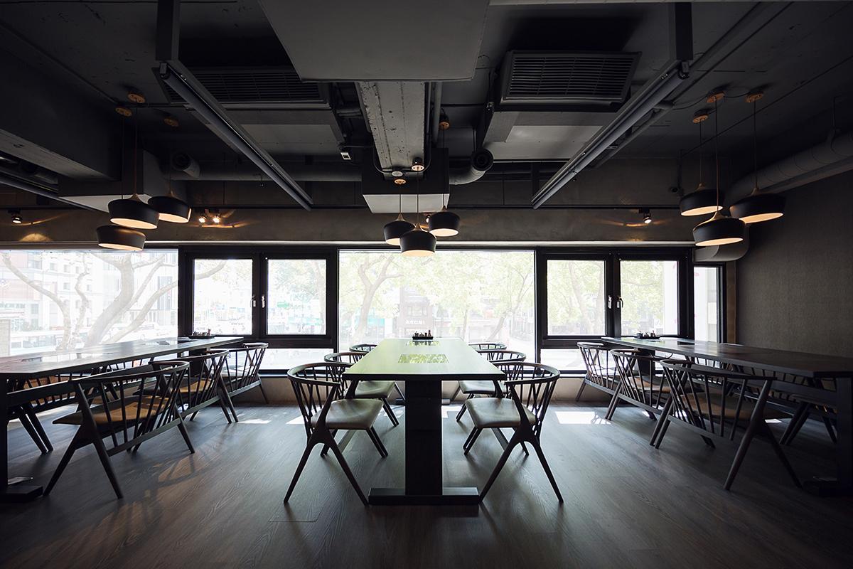 商業空間, 室內設計, 室內裝修, どん亭DonTei壽喜燒上級火鍋 台灣一號店