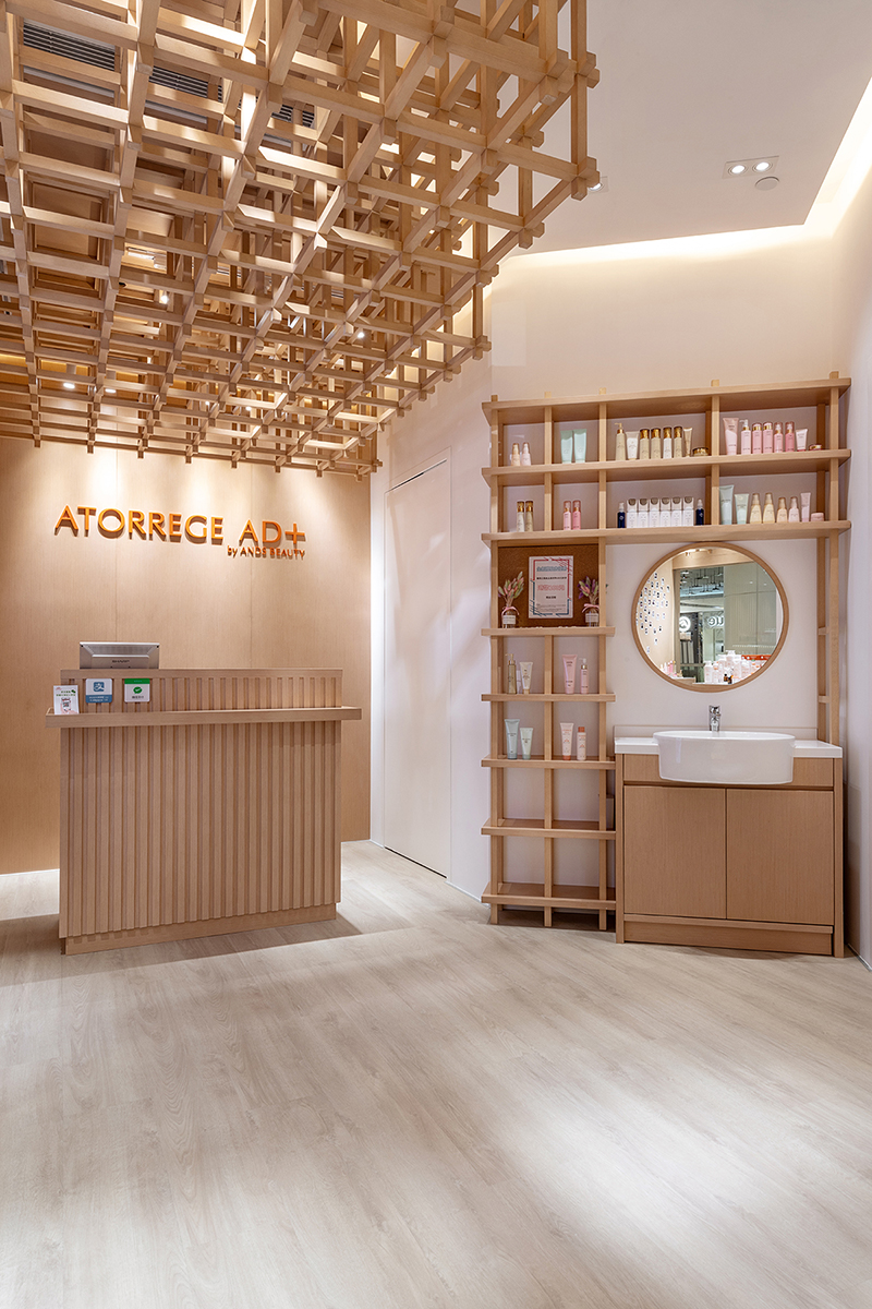 商業空間, 室內設計, 室內裝修, ANDS BEAUTY-香港旗艦店